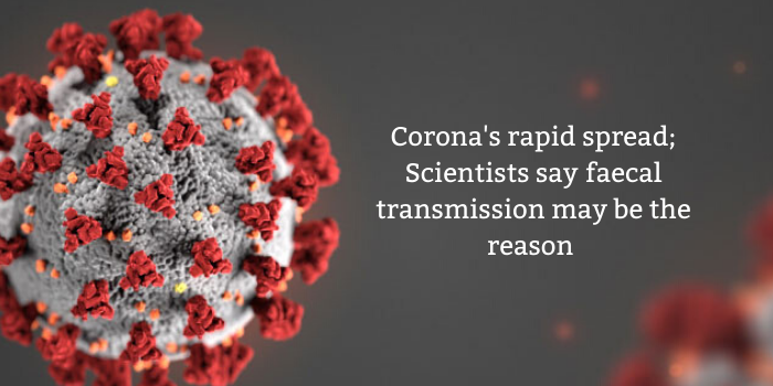 corona virus spread